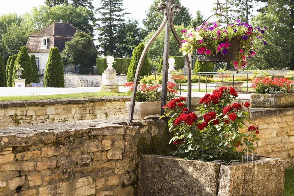 Gardens at Chateau de Gilly, France
