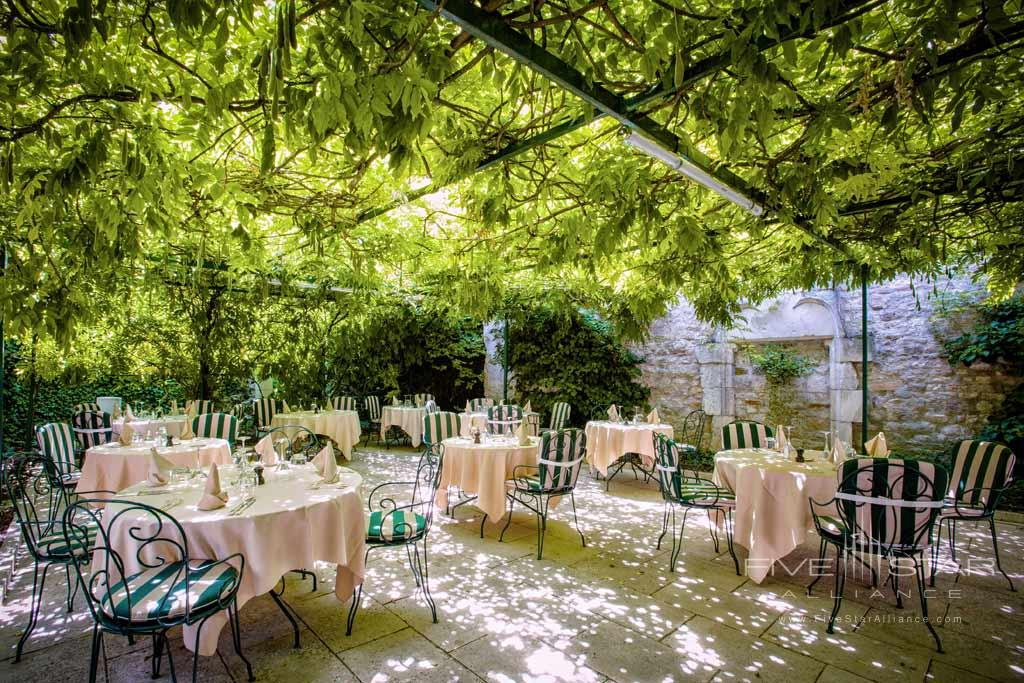 Dine at Chateau de Gilly, France