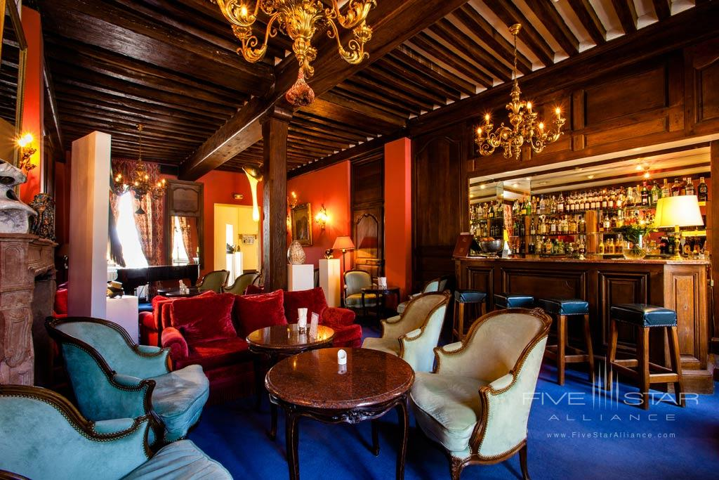 Bar at Chateau de Gilly, France