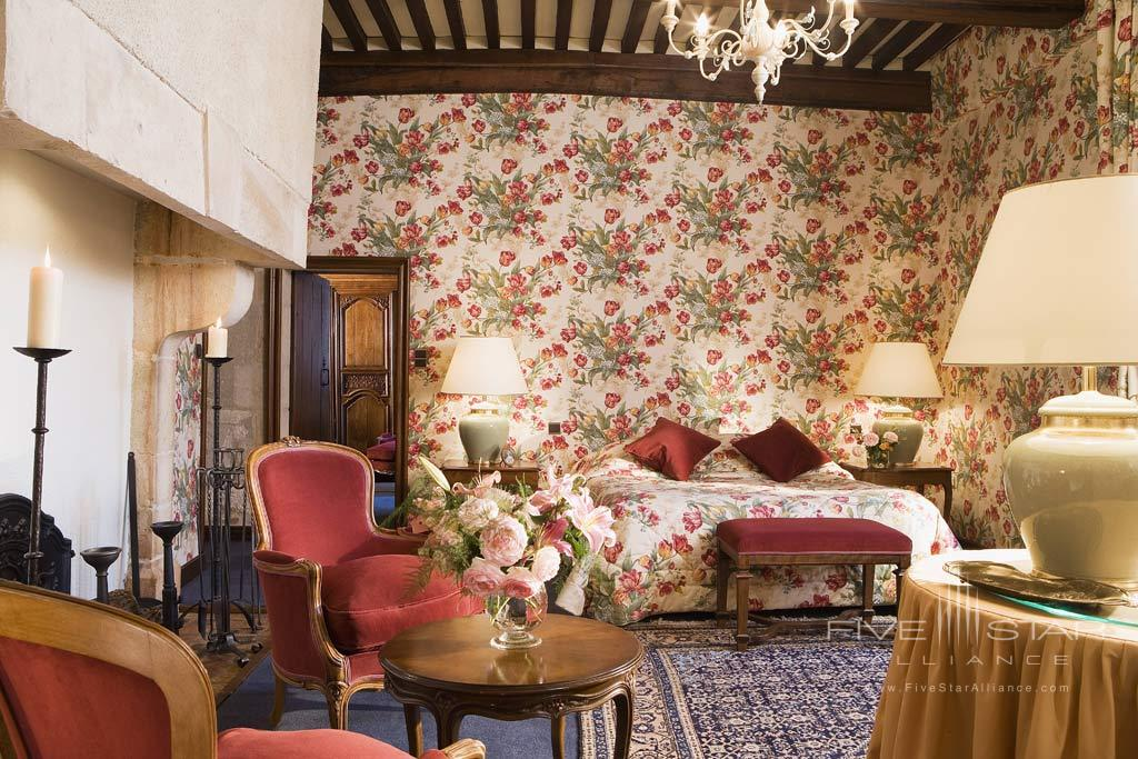Guest Room at Chateau de Gilly, France