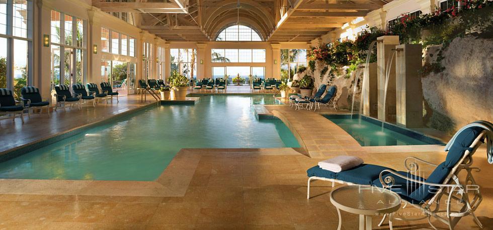 Indoor Pool at Fairmont Southampton, Bermuda