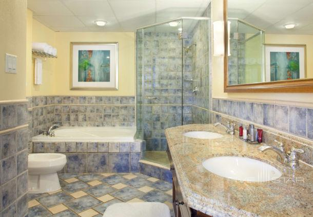 Guest Bath at St. Kitts Marriott Resort, Frigate Bay, Saint Kitts and Nevis