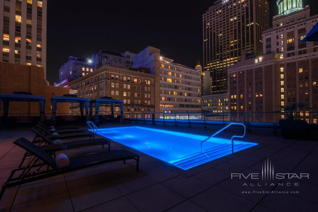 Rooftop Pool at NOPSI Hotel, New Orleans, LA