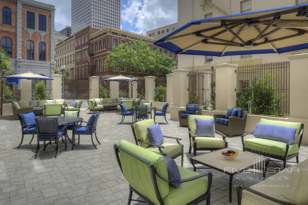 Patio Dining at NOPSI Hotel, New Orleans, LA