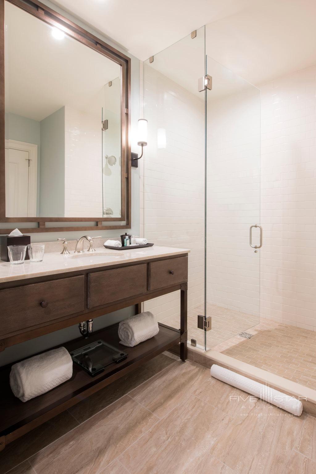 Guest Bath at NOPSI Hotel, New Orleans, LA