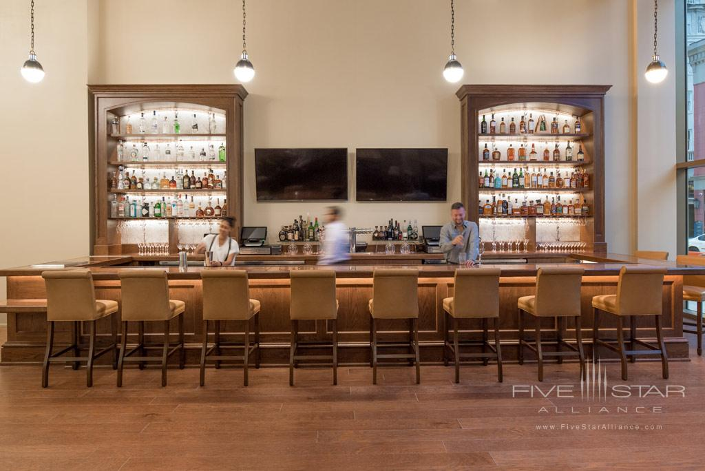 Bar at NOPSI Hotel, New Orleans, LA