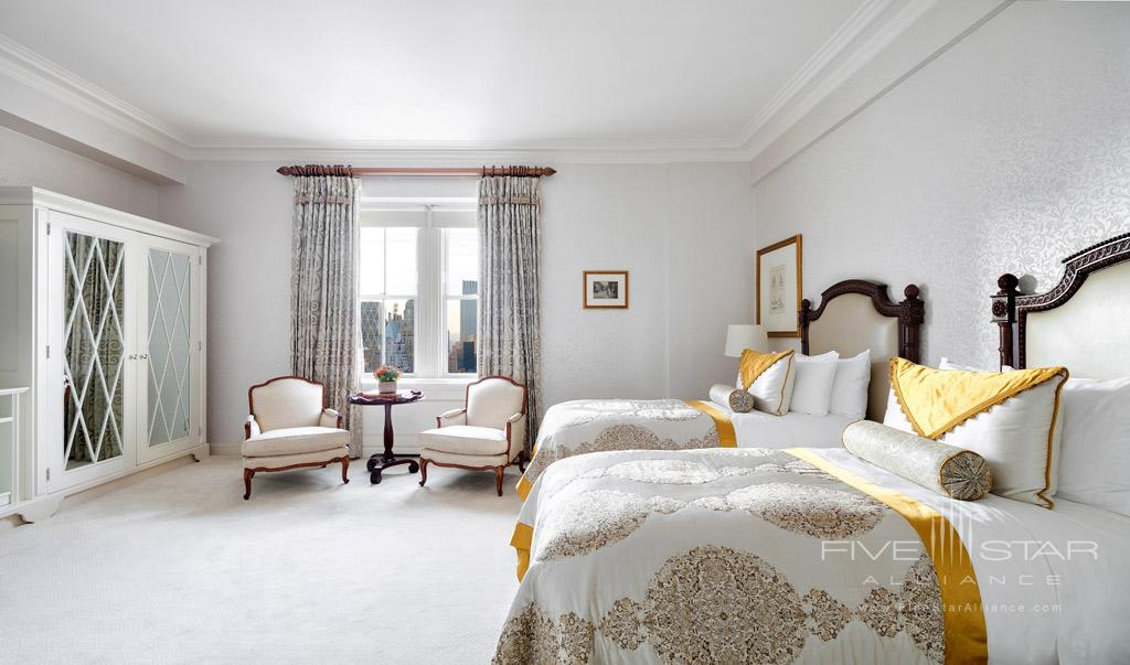 Tata Suite Twin Guest Room at The Pierre Hotel New York, United States