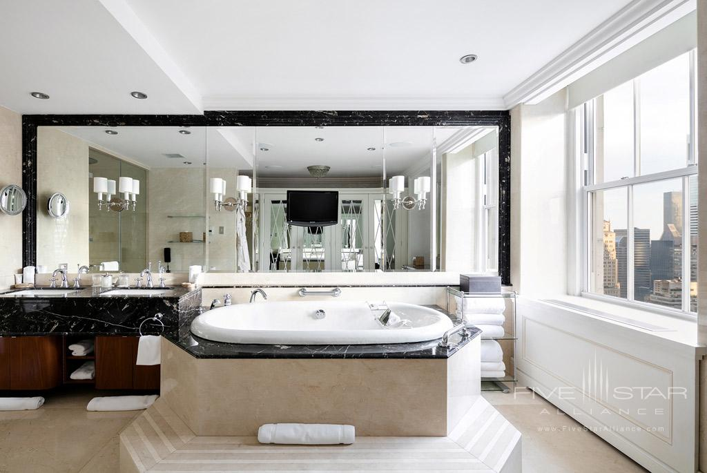 Presidential Suite Bathroom at The Pierre New York