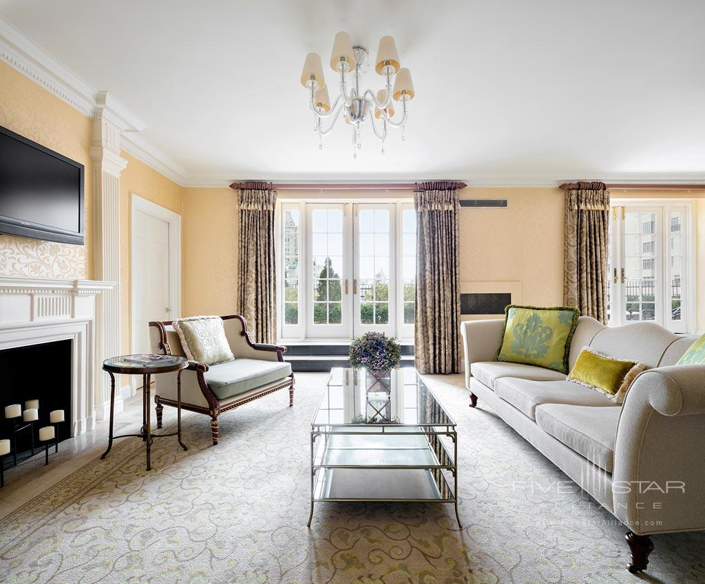 Getty Suite Living Room at The Pierre Hotel New York, United States