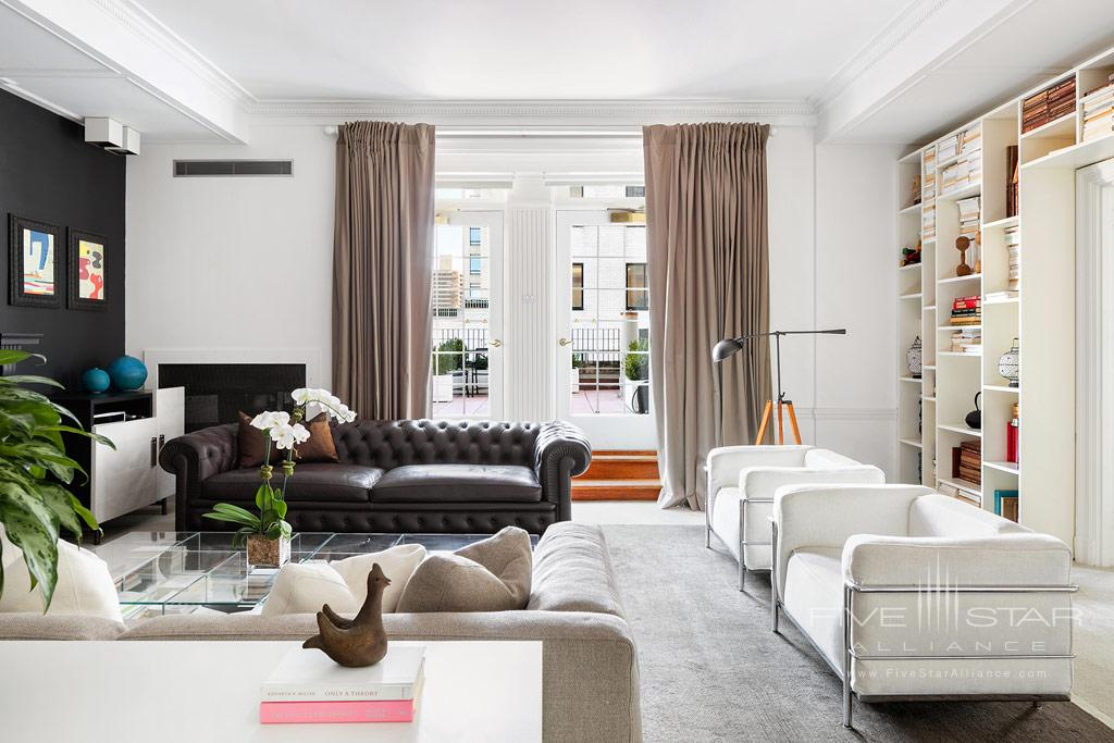 Charles Pierre Suite Living Room at The Pierre Hotel New York, United States