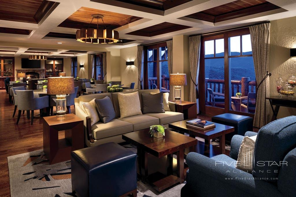 Lounge at The Ritz Carlton, Bachelor Gulch, Avon, CO