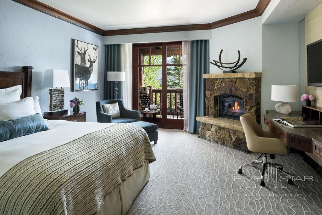 Guest Room at The Ritz Carlton, Bachelor Gulch, Avon, CO