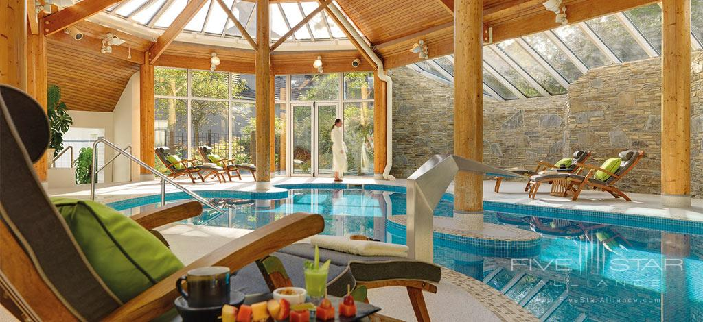Indoor Pool at Sheen Falls Lodge, Kerry County, Ireland