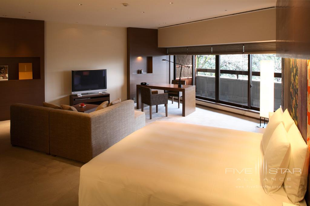 Guest Room at Hyatt Regency Kyoto, Japan