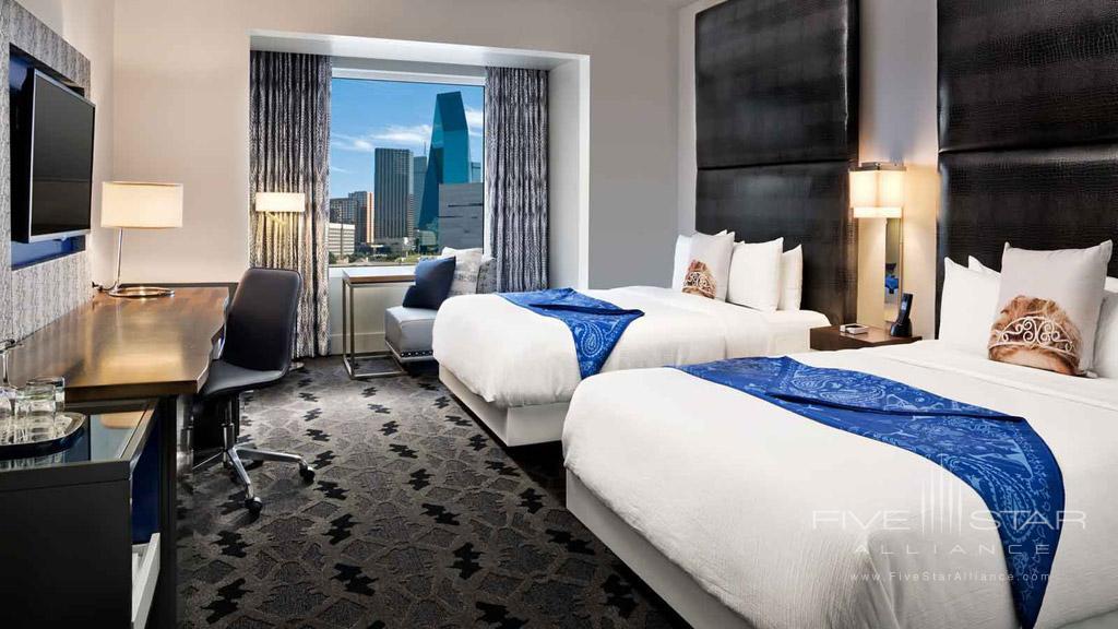 Wonderful Double King Room at W Dallas Victory, Dallas, TX