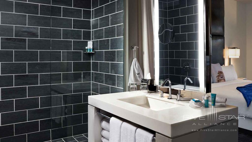Spectacular Room Bath at W Dallas Victory, Dallas, TX