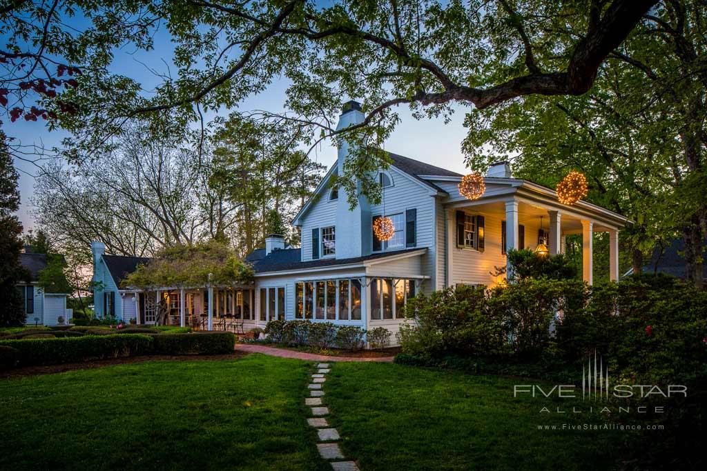 The Fearrington House Inn, Pittsboro, NC