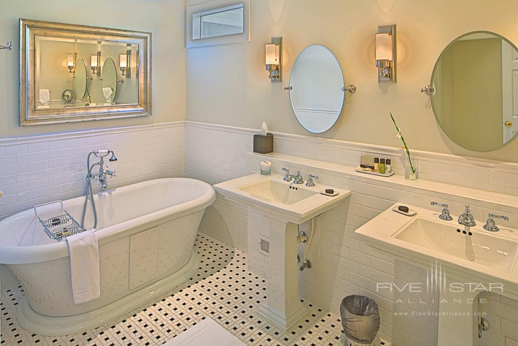 Guest Bath at The Fearrington House Inn, Pittsboro, NC