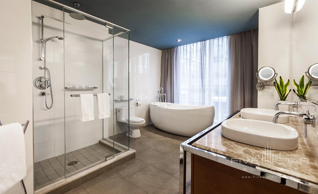Executive Suite Bath at Hotel Le Crystal, Montreal, Quebec, Canada