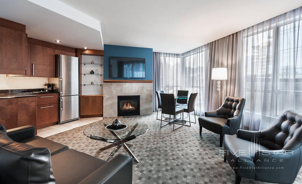 Penthouse Suite at Hotel Le Crystal, Montreal, Quebec, Canada