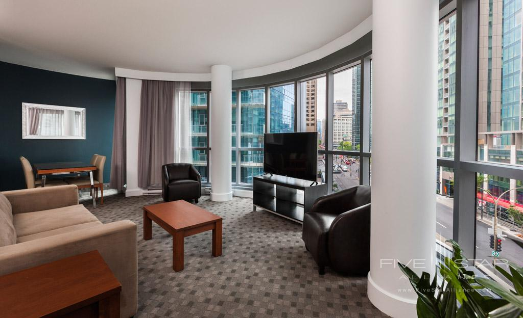 King Suite at Hotel Le Crystal, Montreal, Quebec, Canada