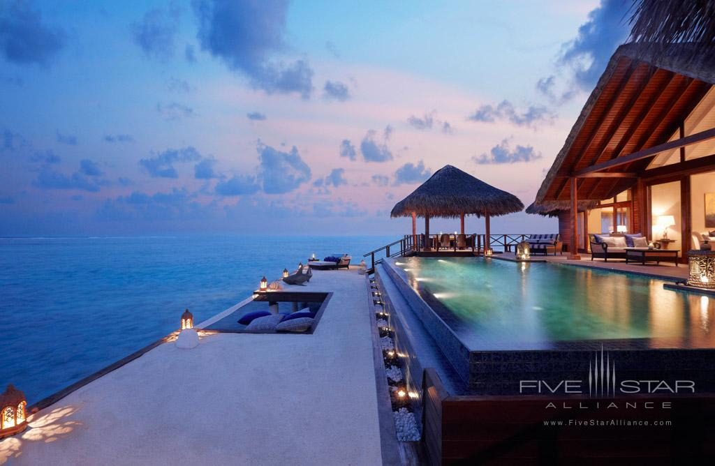 Rehendi Presidential Overwater Suite with Pool at Taj Exotica Resort and Spa