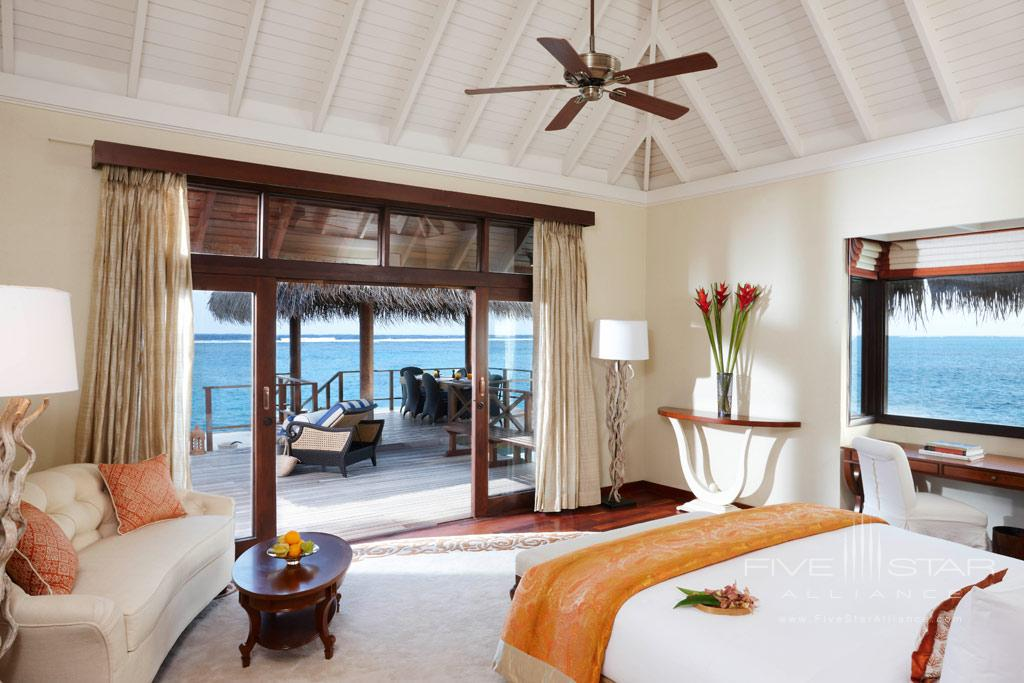 Rehendi Presidential Overwater Suite at Taj Exotica Resort and Spa