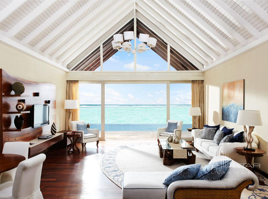 Presidential Suite Living Room at Taj Exotica Resort and Spa