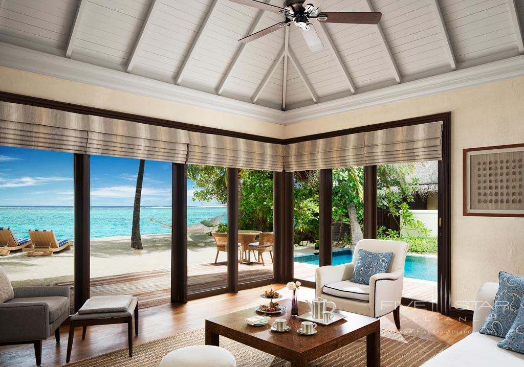 One Bedroom Beach Villa Suite with Pool at Taj Exotica Resort and Spa, Male, Maldives