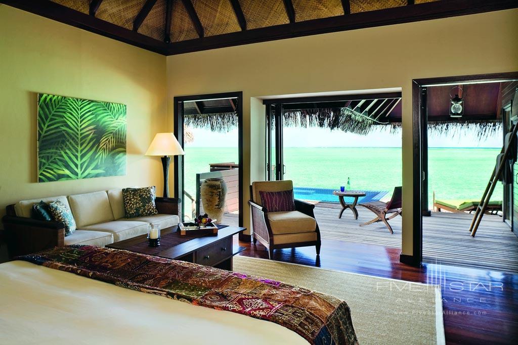 Deluxe Lagoon Villa at Taj Exotica Resort and Spa, Male, Maldives