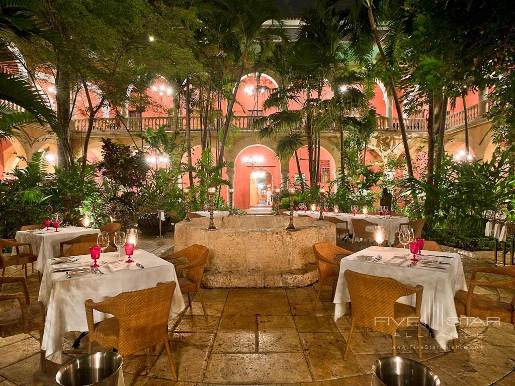 Dine at Sofitel Legend Santa Clara, Cartagena, Bolivar, Columbia