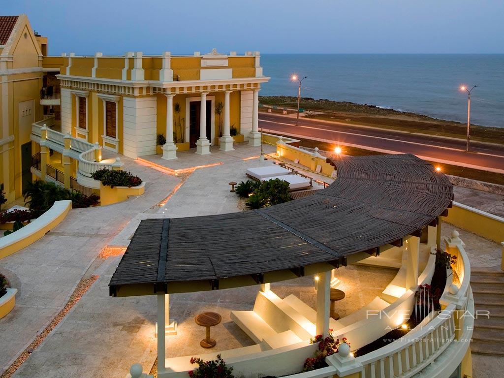 Outdoor Lounge at Sofitel Legend Santa Clara, Cartagena, Bolivar, Columbia