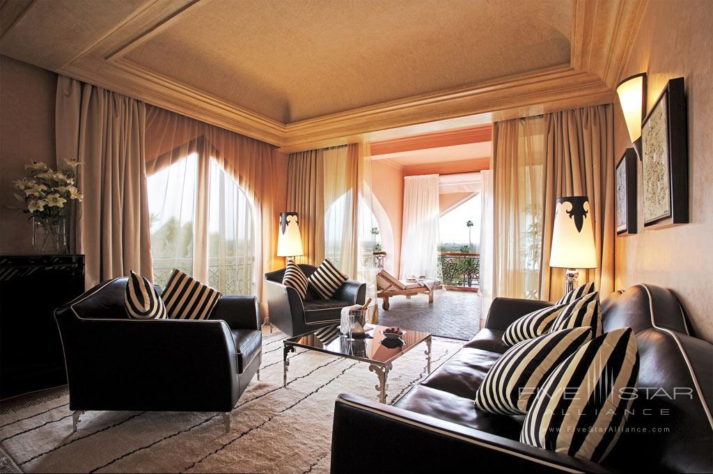 Superior Corner Suite at Es Saadi Marrakech Resort Palace, Marrakech, Morocco
