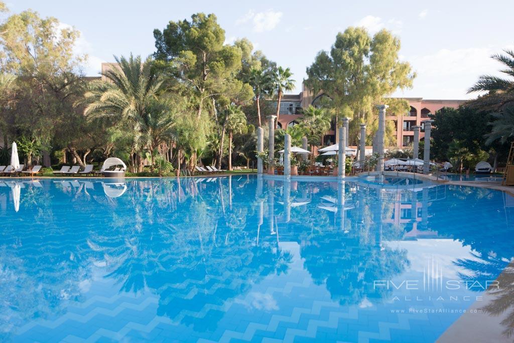 Outdoor Pool at Es Saadi Marrakech Resort Palace, Marrakech, Morocco