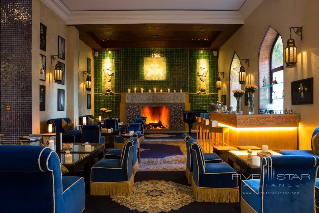 Lobby and Bar at Es Saadi Marrakech Resort Palace, Marrakech, Morocco