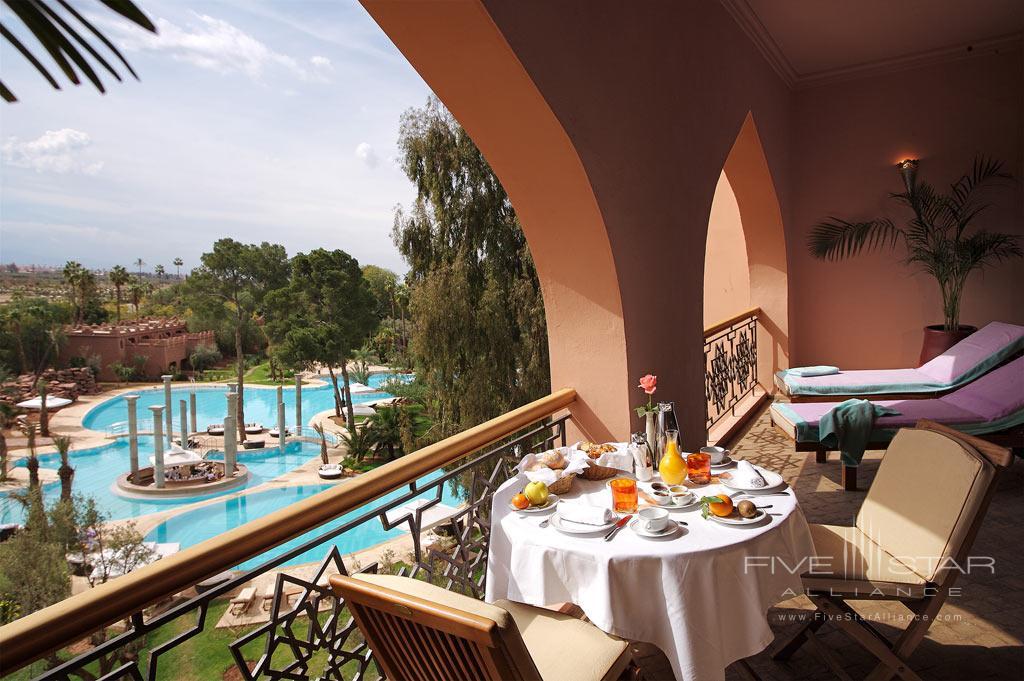 Deluxe Suite Terrace at Es Saadi Marrakech Resort Palace, Marrakech, Morocco