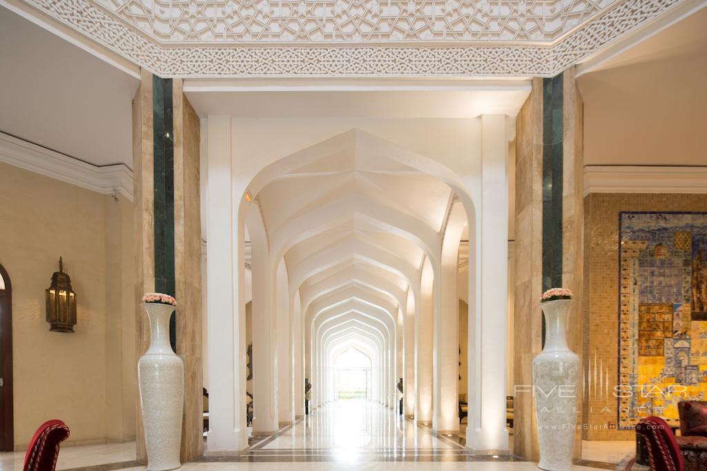 Lobby at Es Saadi Marrakech Resort Palace, Marrakech, Morocco