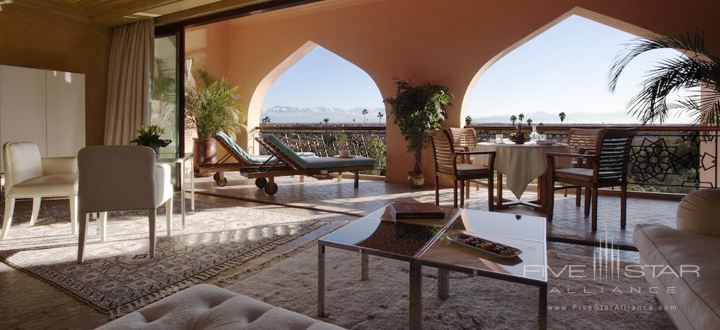 Deluxe Suite Atlas View at Es Saadi Marrakech Resort Palace, Marrakech, Morocco
