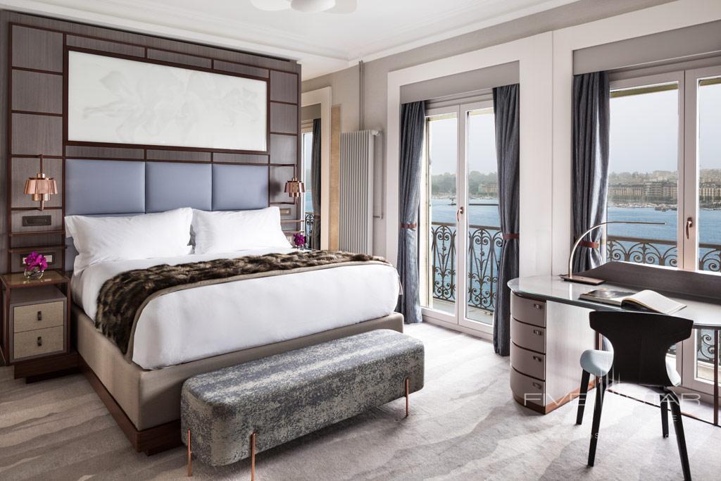 Guest Room at Hotel de la Paix Geneva, Geneve, Switzerland