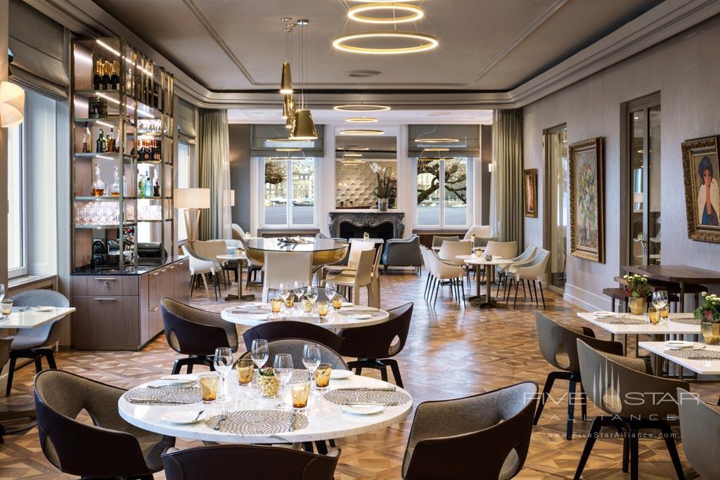 Dine at Hotel de la Paix Geneva, Geneve, Switzerland