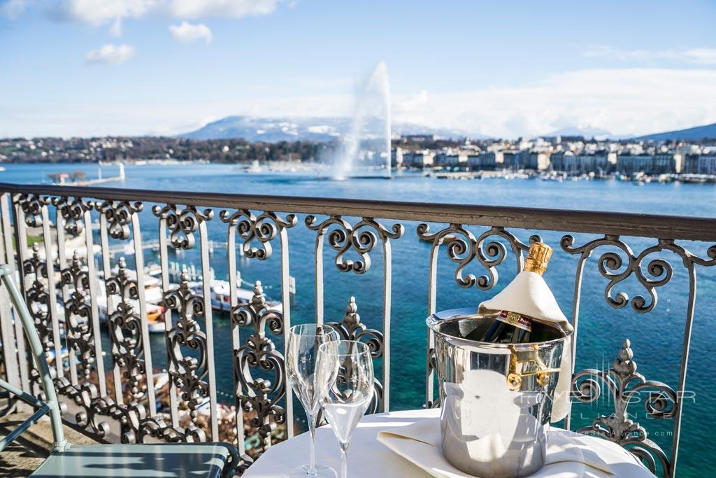 Views from Hotel de la Paix Geneva, Geneve, Switzerland