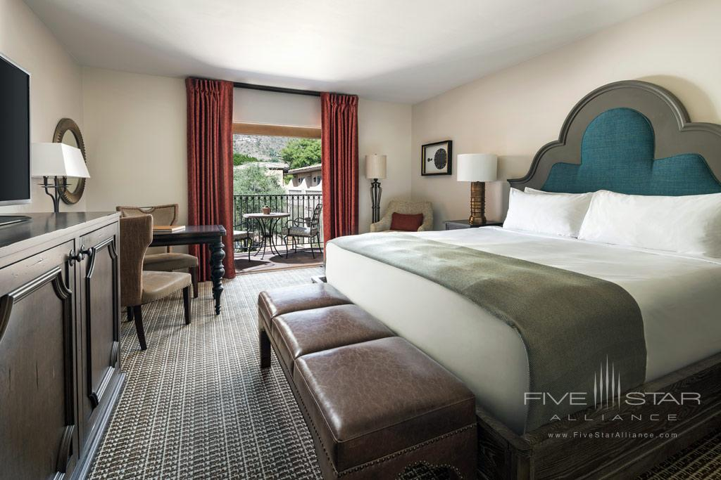 Montavista Terrace King Guest Room at Royal Palms Hotel And Spa, Phoenix, AZ