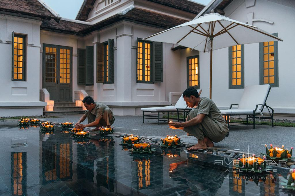 Suite Romantic Setting at Amantaka, Luang Prabang, Laos