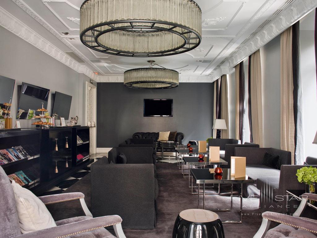 Lounge at Hotel Unico Madrid, Spain