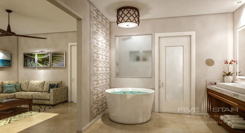 Villa Bath at Sandals Regency La Toc, Castries, Saint Lucia