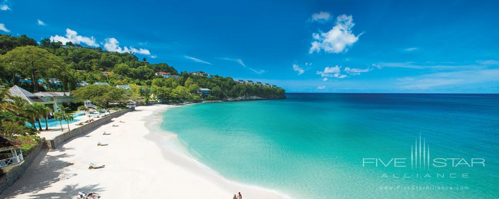 Long Beach at Sandals Regency La Toc, Castries, Saint Lucia