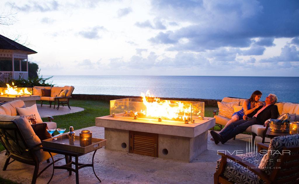 Fire Pit Lounge at Sandals Regency La Toc, Castries, Saint Lucia
