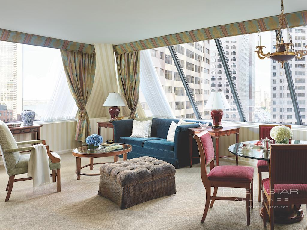One Bedroom Suite at The Langham Boston