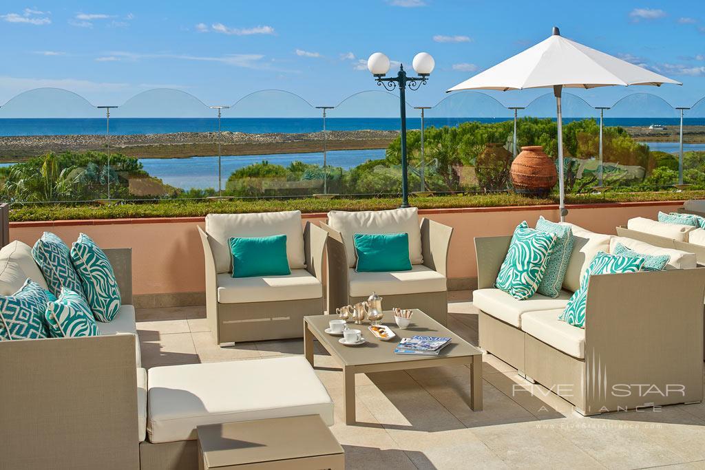 Lounge at Hotel Quinta Do Lago, Algarve, Portugal