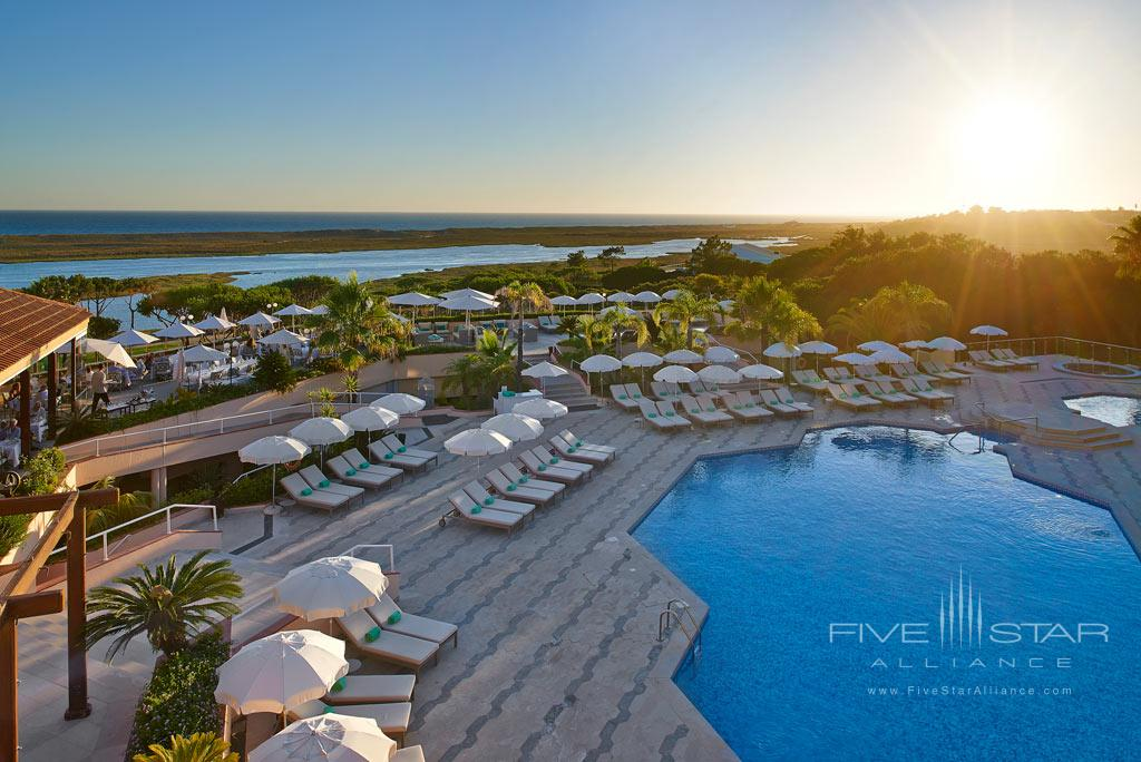 Outdoor Pool at Hotel Quinta Do Lago, Algarve, Portugal